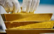 Gold Holds Near Eight-Month High