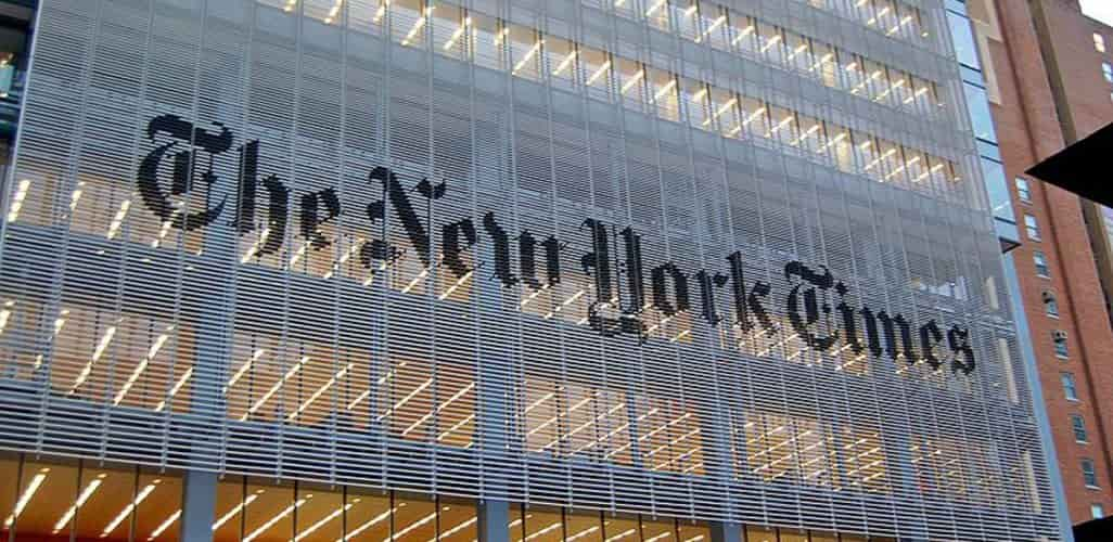 New York Times Not To Be Part of Apples News Service