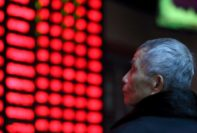 Pound Falls Asian Stocks a Mixed Bag