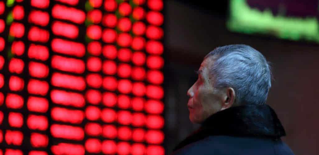 Pound Falls Asian Stocks a Mixed Bag