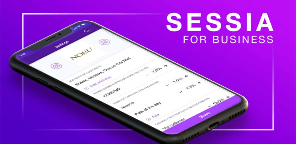 Sessia business app